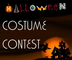 office halloween costume contest flyer