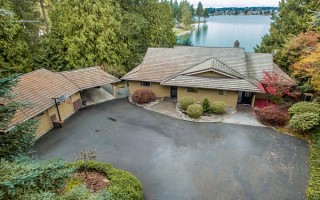 Coveted Lake Tapps Estate On Snag Island